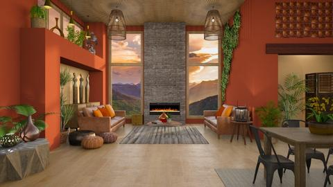 CANYON - Living room - by LB1981