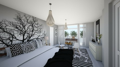 nordic forest redesign  - Modern - Bedroom - by gloria marietti