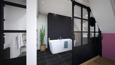 combles - Bathroom - by patouguernion