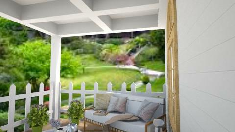 front porch - by Polackova