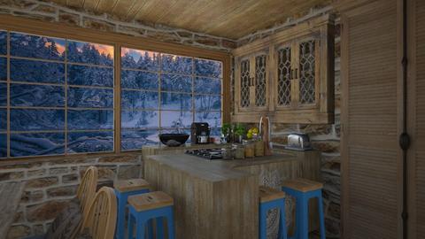 shabby chic kitchen - Kitchen - by daydreamer84