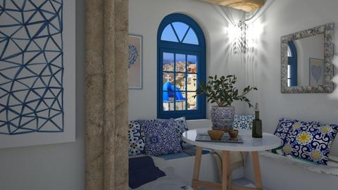 Santorini - by klara skop