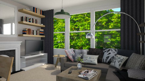 living room - Living room - by Amy Neil_415
