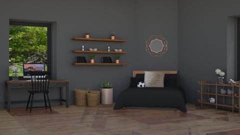 Christiana  - Modern - Bedroom - by NEVERQUITDESIGNIT