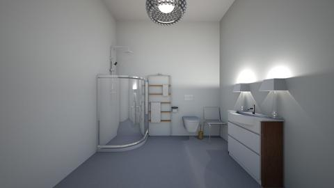 casual bathroom - Bathroom - by wesern wind