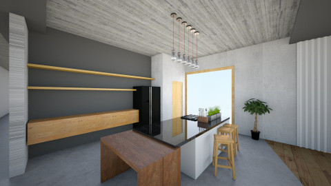 Prasnik spolocenska zona - Living room - by dlhagi
