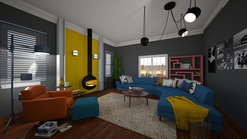 eclectic living - Bedroom - by Mackenzie Kem