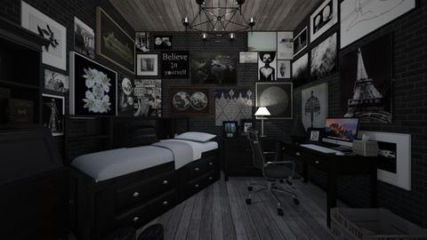 The artists bedroom - Bedroom - by Anezka01