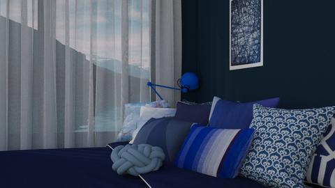Feeling Blue - Modern - Bedroom - by HenkRetro1960