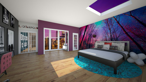 City Bedroom - Global - Bedroom - by Kenzie_KO