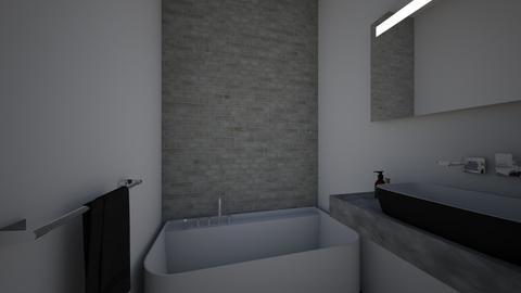 Badkamer Raffelgem - Bathroom - by Kennethdc