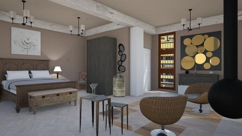 IP Diego Pi - Bedroom - by Pilita Jabers
