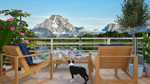 Mountain Home - Garden - by lilyamc