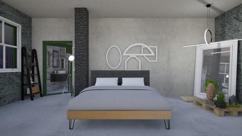 Minimal - Minimal - Bedroom - by augustmoon