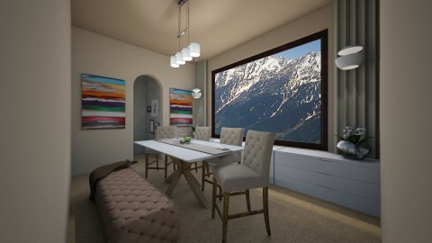 Dining Room Competition - by riamo