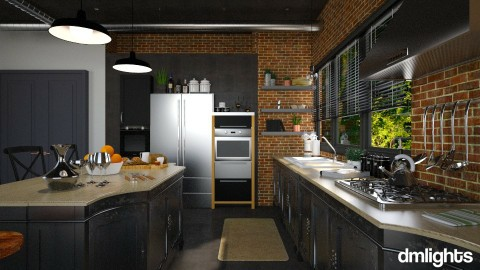 industrial  kitchen - Kitchen - by rrogers45
