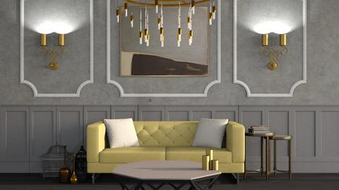 Excessive - Living room - by The Minimalist