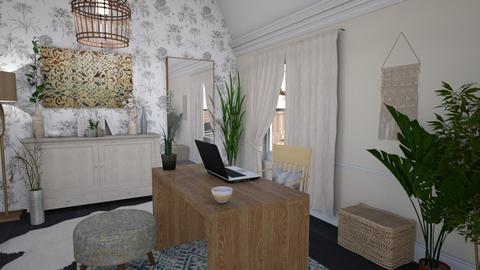 Boho Office - by kyrabaldwin