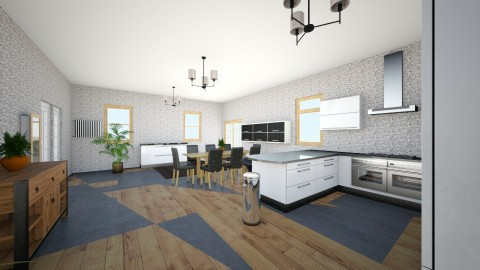 The Kitchen - Modern - Kitchen - by TJGraffiti