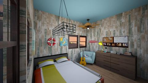 Surf Culture Bedroom - Bedroom - by ReadMoreBooks