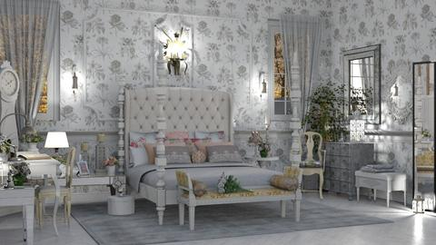 Romance - Feminine - Bedroom - by LuzMa HL