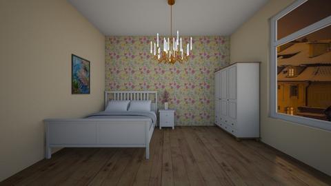Ferns - Feminine - Bedroom - by Twerka