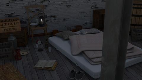 Rough - Minimal - Bedroom - by HenkRetro1960