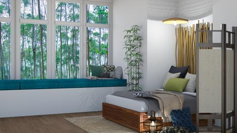 Template Baywindow Room - Bedroom - by cutebaxter123