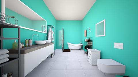 bathroom - Bathroom - by kcruthirds897