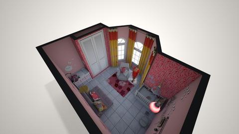 Quarto de Baby 1 - Feminine - Kids room - by Mariesse Paim