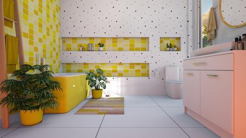batroom yellow - by eide10e10e10