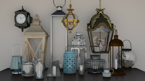 Lantern Maker - Vintage - by Cairalacas