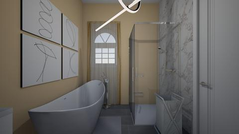 Golden Getaway - Modern - Bathroom - by zoe128