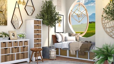 Farmhouse Bedroom - Bedroom - by millerfam