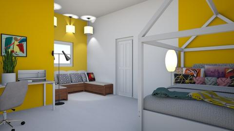 geometric - Modern - Bedroom - by eve 1