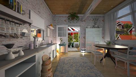 SHABBY CHIC KITCHEN - Kitchen - by rasty