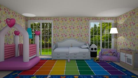 Macy - Kids room - by AmbianceG