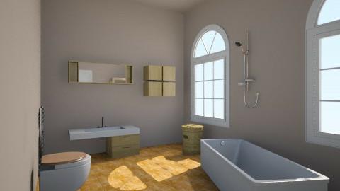 hey - Bathroom - by LaurenPixy