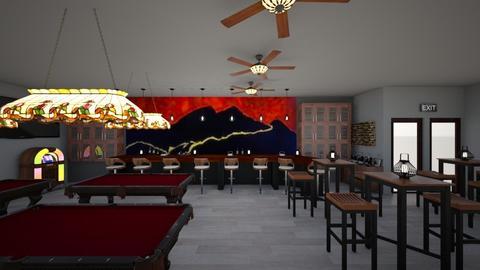 Fire Mountain Bar - by Sandra Jones