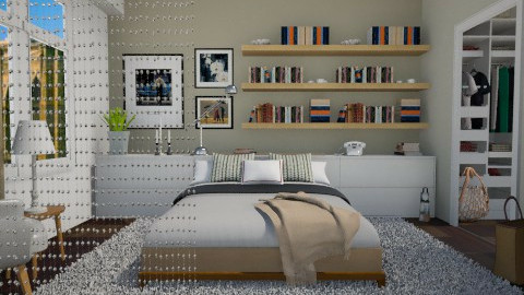 Carrie s place - Bedroom - by Tuija
