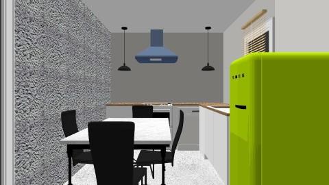 garage - Minimal - Kitchen - by ngorvin