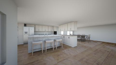 kitchen proposed - Kitchen - by colved