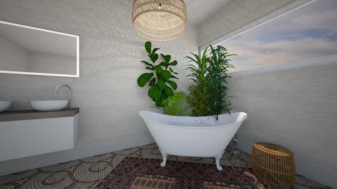 Bohemian - Classic - Bathroom - by daisychainhippytaniwha