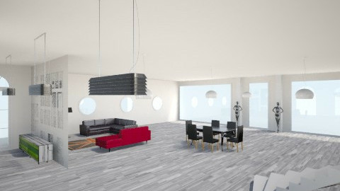 A whole room - Modern - Living room - by apswa