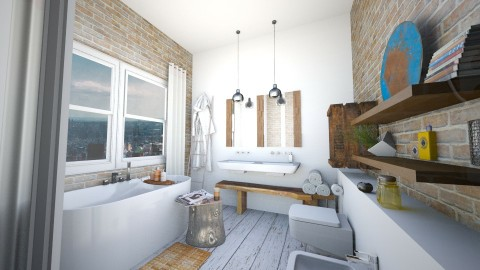 bath1 - Bedroom - by didi_
