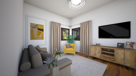 Dragos Vlad parter - Living room - by Flori Santa