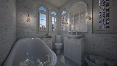 shabby - Bathroom - by daydreamer84