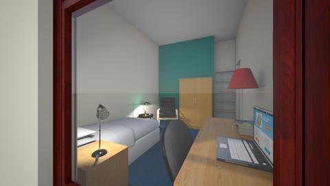 Room - Bedroom - by Cecily Reid