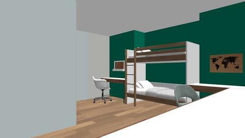 Bunk bed Room - Kids room - by Vlad Silviu