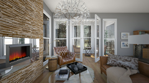Rainy day - Eclectic - Living room - by liling